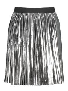 onlLUCILE SHORT PLISSE METALLIC SKI 15138369 Silver