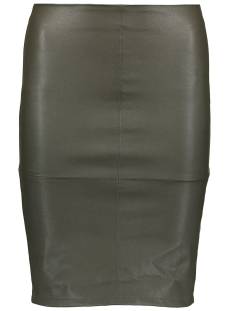 Only Rok onlCELINA FAUX LEATHER MIDI SKIRT O 15124447 Peat