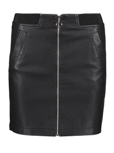 Jacqueline de Yong Rok JDYALMA FAUX LEATHER SKIRT OTW 15138343 Black