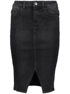 Vero Moda Rok VMSUSANNA HW PENCIL SLIT SKIRT 10178821 Black