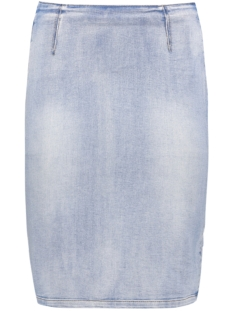 Vero Moda Rok VMSELMA HW ABOVE KNEE PENCIL SKIRT 10172778 Light Blue Denim