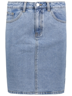 Vila Rok VIEIGHT DENIM SKIRT 14041176 Light Blue Denim