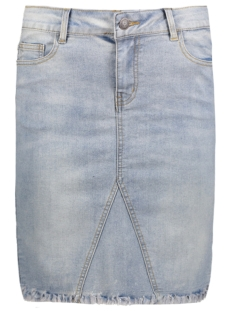 OBJTINNIE BELLA MW DENIM SKIRT 23024078 Light Blue Denim