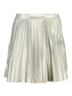 Only Rok onlSANNE METALLIC PLEATS SHORT SKIRt 15133335 Peyote/Metallic