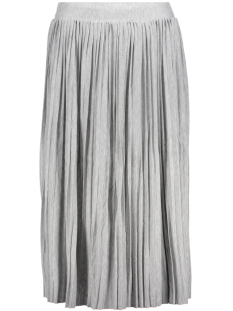 Object Rok OBJMIYA CAROLINE CALF SKIRT 91 23024589 Light Grey Melange