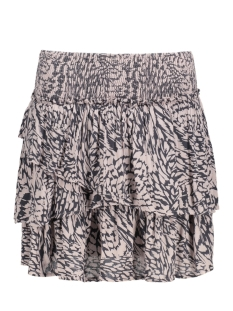 Vero Moda Rok VMHOLLY SMOCK LAYER SHORT SKIRT NFS 10190128 Sphinx/ Holly