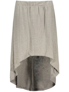 NMJULIAN NW HI-LO SKIRT 4 10178699 Light Grey Melange