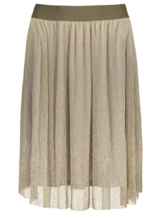 Object Rok OBJAVEY HW PLISSE SKIRT A 23025336 Antique Gold