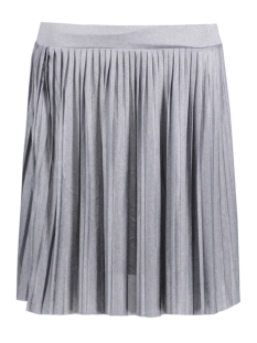 Vero Moda Rok VMMOLLY SHORT PLEAT SKIRT NFS FF17 10189231 Light Grey Melange