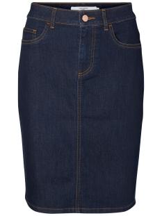 Vero Moda Rok VMNINE HW PENCIL SKIRT 10182474 Dark Blue Denim
