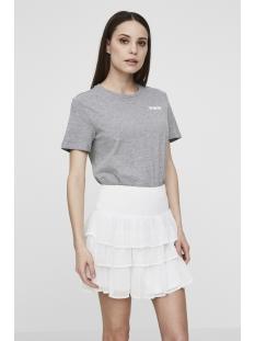 vmnoora smock mini skirt nfs 10185981 vero moda rok snow white