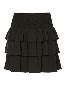 vmnoora smock mini skirt nfs 10185981 vero moda rok black