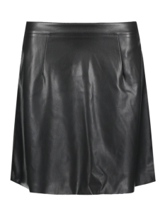 Vila Rok VIFLORIS FAUX LEATHER SKIRT 14044599 Black