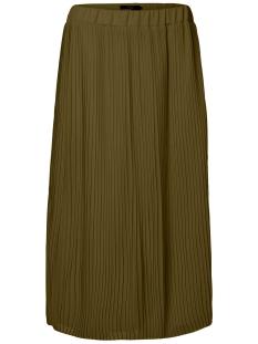 Vero Moda Rok VMPLETA H/W CALF SKIRT D2-5 10182124 Dark Olive