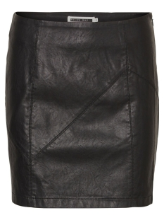 Noisy may Rok NMREBEL PU NW SHORT SKIRT NOOS 27000753 Black