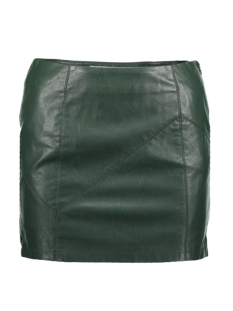 Noisy may Rok NMREBEL PU NW SHORT SKIRT NOOS 27000753 Green Gables