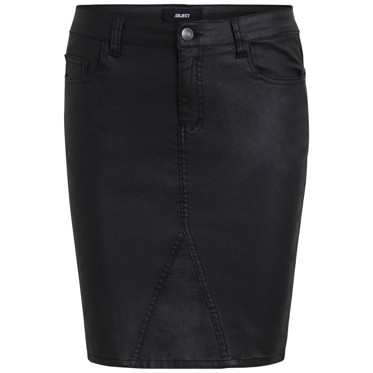 objbelle coated skirt noos 23025385 object rok black