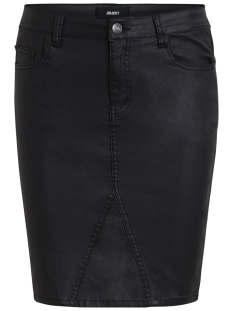 Object Rok OBJBELLE COATED SKIRT NOOS 23025385 Black