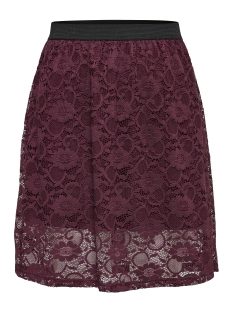 Jacqueline de Yong Rok JDYGREEN LACE SKIRT JRS 15141460 Vineyard Wine
