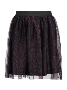 Only Rok onlFIONA SHORT AOP TULLE SKIRT WVN 15144870 Reflecting Pond/ Leopard CO