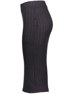 onlida rib skirt knt 15138965 only rok dark grey melange