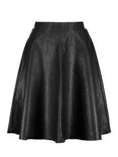 Noisy may Rok NMANNA HW PU KNEE SKIRT X 27000675 Black