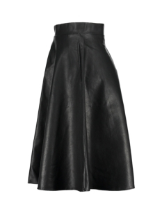 nmanna hw pu knee skirt x 27000675 noisy may rok black