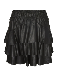 Vero Moda Rok VMRINA BUTTER NW SHORT PU SKIRT 10185033 Black Beauty