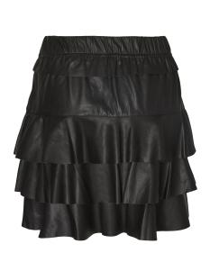 vmrina butter nw short pu skirt 10185033 vero moda rok black beauty