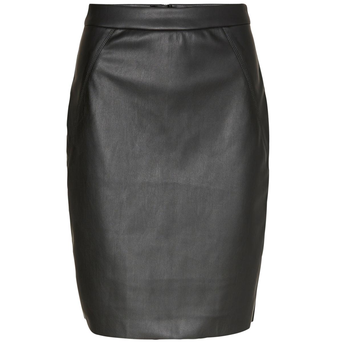 vmninea hw pu abk skirt black noos 10183334 vero moda rok black