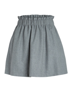 pcnanette hw skirt 17083937 pieces rok medium grey melange