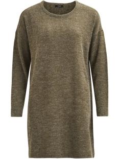 Vila Jurk VIRIVA L/S KNIT DRESS-NOOS 14029147 Ivy Green/Melange