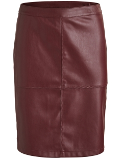 Vila Rok VIPEN NEW SKIRT-FAV 14043497 Cabernet