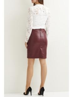 vipen new skirt-fav 14043497 vila rok cabernet