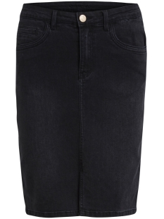 Vila Rok VIBARCHER DENIM SKIRT 14041944 Black