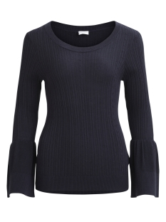 Vila Trui VILESLY BELL SLEEVE KNIT TOP 14042902 Dark Navy