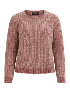 Object Trui OBJOLIVIATI KNIT PULLOVER .I 92 23025086 Whitered Rose