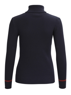 visoldana l/s knit top gv 14042244 vila trui dark navy/rooibos te