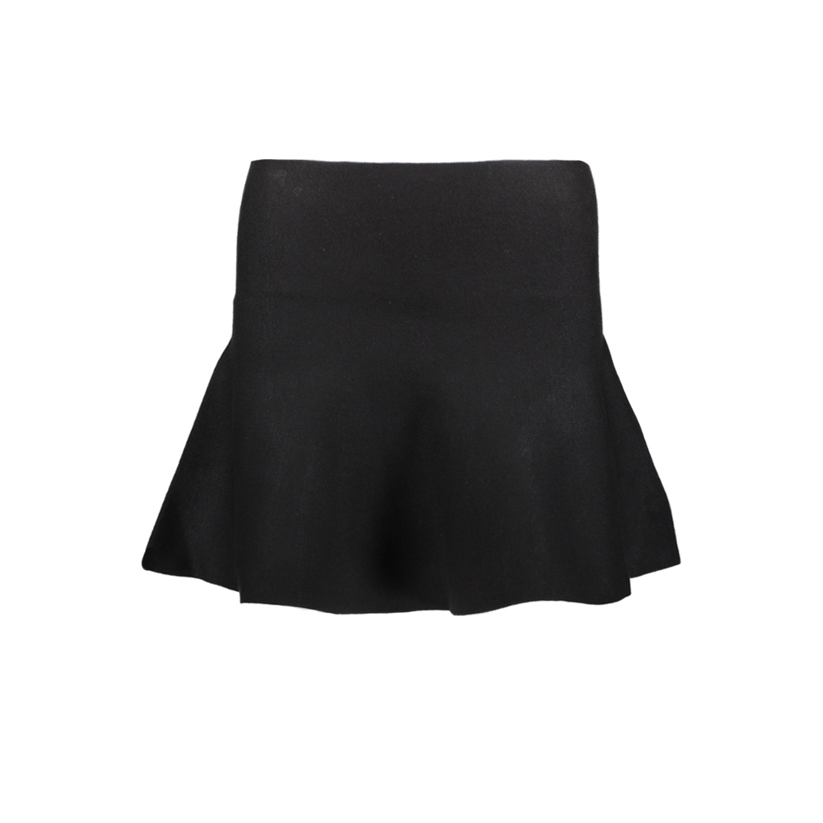nmcirus hw short knit skirt noos 27000360 noisy may rok black