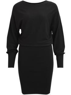 Vila Jurk VINOMA L/S KNIT DRESS 14042262 Black