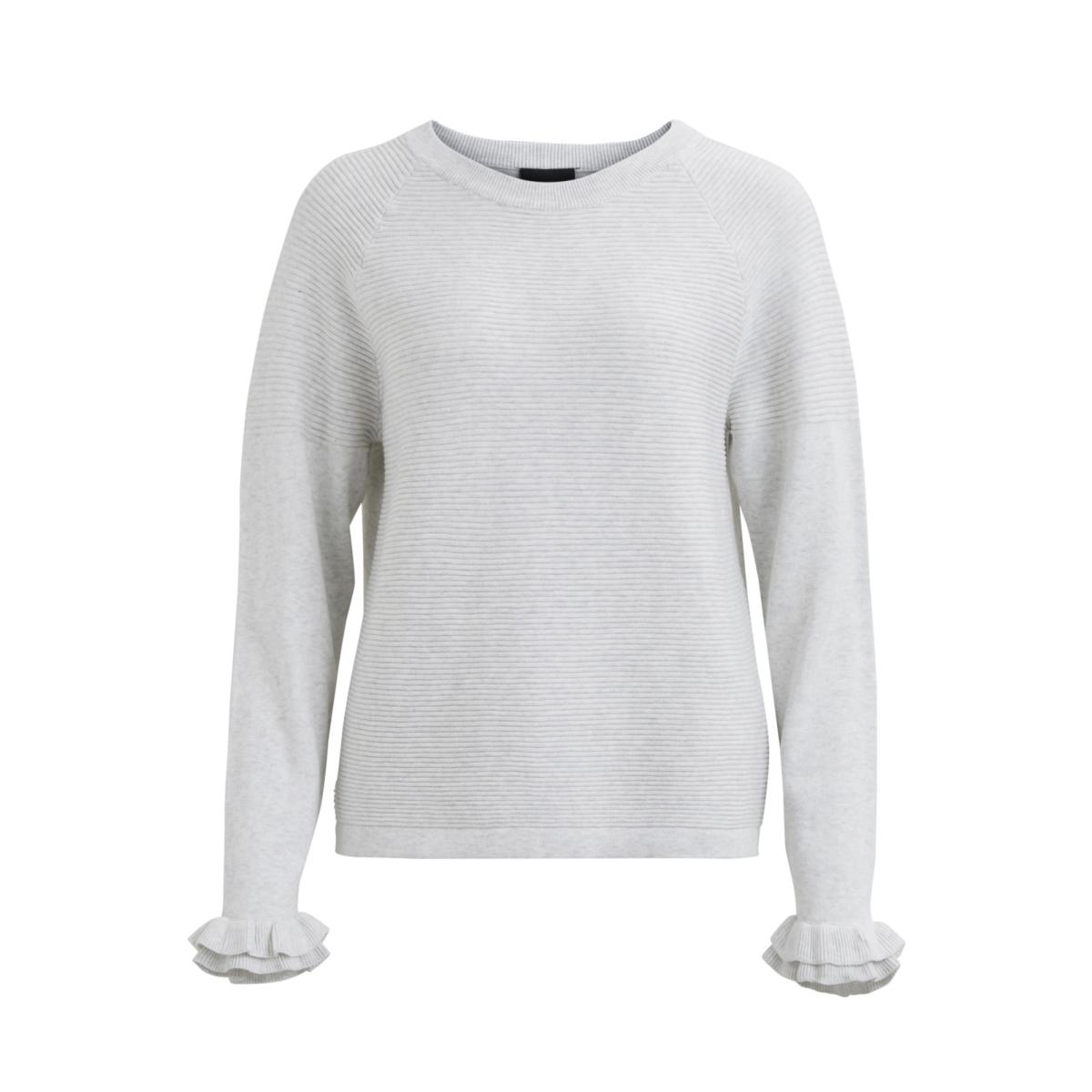 objfuerla morgan l/s knit pullover 23025740 object trui gardenia