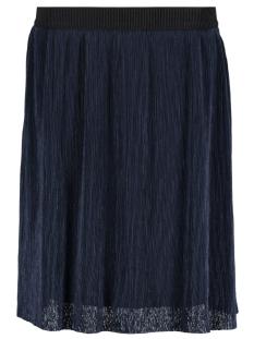 Vero Moda Rok VMMILA HW ABK SKIRT JRS 10185361 Navy Blazer/Black Wais