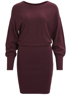 Vila Jurk VINOMA L/S KNIT DRESS 14042262 Fig