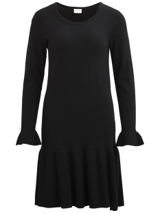 Vila Jurk VIVICKA L/S KNIT DRESS/GV 14043004 Black