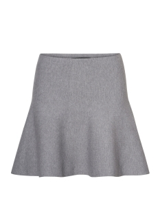Vero Moda Rok VMFRESNO SHORT KNIT SKIRT NOOS 10185357 Medium Grey Melange