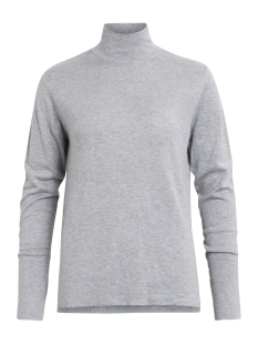 Vila Trui VIFLARY L/S TURTLENECK KNIT TOP/TB 14043606 light Grey Melange
