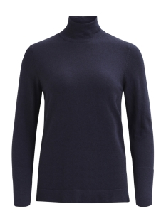 Vila Trui VIFLARY L/S TURTLENECK KNIT TOP/TB 14043606 Dark navy