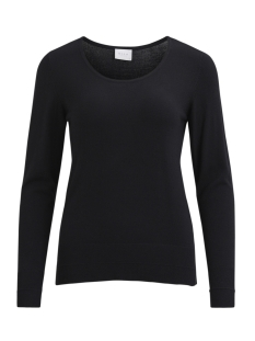 Vila Trui VIHELENA L/S DETAIL KNIT TOP/GV 14043059 Black