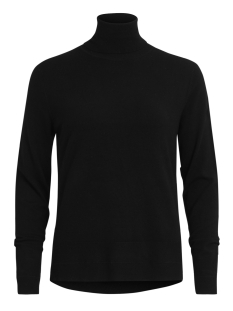 Vila Trui VIHELENA L/S ROLLNECK KNIT TOP 14044565 Black