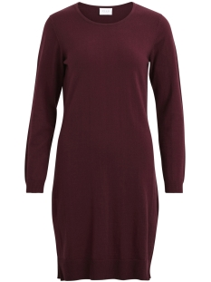 Vila Jurk VIBEKKA L/S KNIT DRESS TB 14042918 Fig